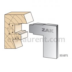 Couteaux ZAK 531071