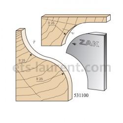 Couteaux ZAK 531100