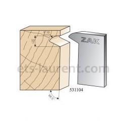 Couteaux ZAK 531104