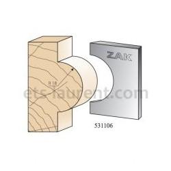 Couteaux ZAK 531106