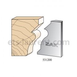 Couteaux ZAK 531200