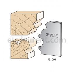 Couteaux ZAK 531204