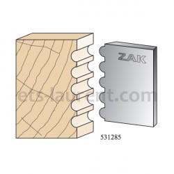 Couteaux ZAK 531285